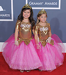 Sophia Grace and Rosie attends The 54th Annual GRAMMY Awards held at The Staples Center in Los Angeles, California on February 12,2012                                                                               © 2012 DVS / Hollywood Press Agency