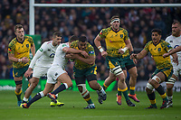 Twickenham, United Kingdom, Saturday, 24th  November 2018, RFU, Rugby, Stadium, England, Australian Prop, Scott Sio, start's an early attack, during the Quilter Autumn International, England vs Australia, © Peter Spurrier