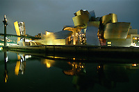 Spanien, Baskenland, Guggenheimmuseum von Frank O. Gehry in Bilbao