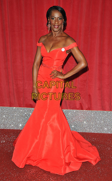Jacqueline Boatswain at the British Soap Awards 2017, The Lowry Theatre, Pier 8, Salford Quays, Salford, Manchester, England, UK, on Saturday 03 June 2017.<br /> CAP/CAN<br /> &copy;CAN/Capital Pictures
