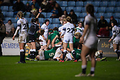 16th March 2018, Ricoh Arena, Coventry, England; Womens Six Nations Rugby, England Women versus Ireland Women; Ireland score a late try