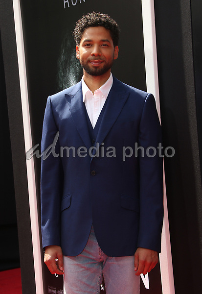 17 May 2017 - Hollywood, California - Jussie Smollett. Sir Ridley Scott Hand And Footprint Ceremony. Photo Credit: AdMedia