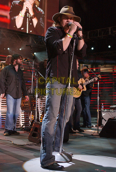 BILLY RAY CYRUS.2007 CMA Music Festival held at LP Field,Nashville, Tennessee, USA, 09  June 2007..full lenth live on stage concert country performing hat.CAP/ADM/LF.©Laura Farr/AdMedia/Capital Pictures.
