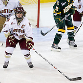 Tracy Johnson (BC - 5) - The University of Vermont Catamounts defeated the Boston College Eagles 5-1 on Saturday, November 7, 2009, at Conte Forum in Chestnut Hill, Massachusetts.