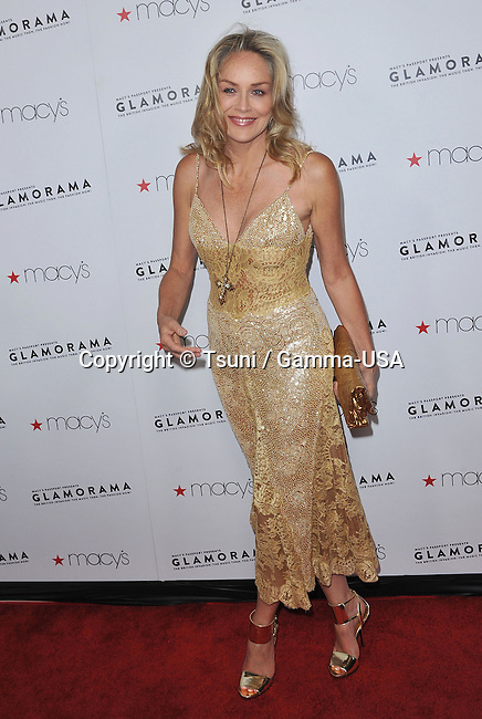 Sharon Stone  at 2012 Glamorama Fundraising for HIV/ AID Foundation at the Orpheum Theatre in Los Angeles.