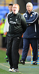 Gary Megson Bolton manager  during the Premier League match at the Reebok Stadium, Bolton. Picture date 12th April 2008. Picture credit should read: Simon Bellis/Sportimage