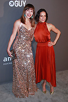 NEW YORK, NY - FEBRUARY 6: Milla Jovovich and Michelle Rodriguez arriving at the 21st annual amfAR Gala New York benefit for AIDS research during New York Fashion Week at Cipriani Wall Street in New York City on February 6, 2019. <br /> CAP/MPI99<br /> ©MPI99/Capital Pictures