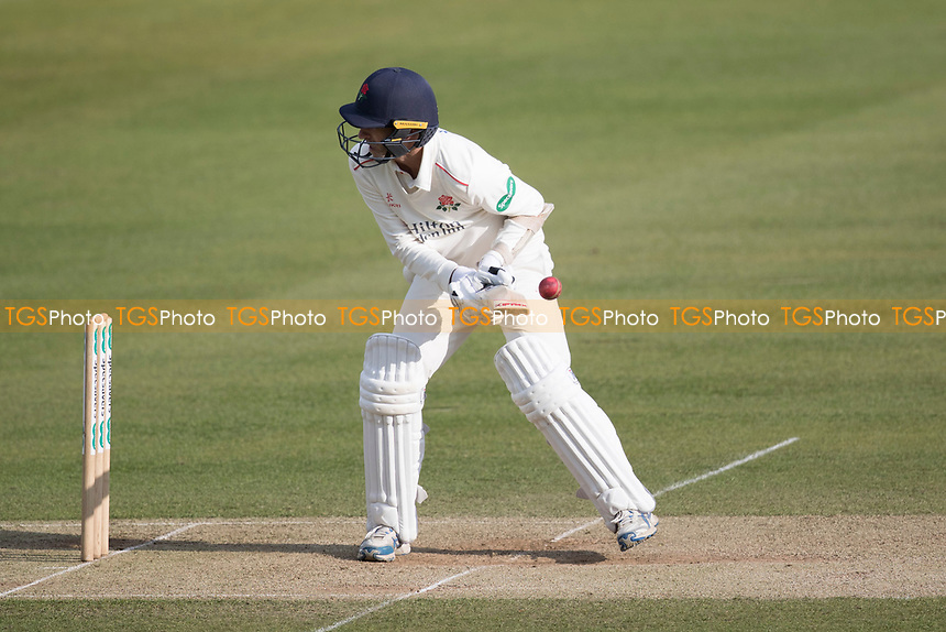 Graham Onions of Lancashire CCC wears a short delivery during Middlesex CCC vs Lancashire CCC, Specsavers County Championship Division 2 Cricket at Lord's Cricket Ground on 13th April 2019