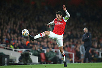 Hector Bellerin of Arsenal in action during Arsenal vs Standard Liege, UEFA Europa League Football at the Emirates Stadium on 3rd October 2019