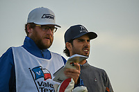 Abraham Ancer (MEX) looks over his tee shot on 11 during day 2 of the Valero Texas Open, at the TPC San Antonio Oaks Course, San Antonio, Texas, USA. 4/5/2019.<br /> Picture: Golffile | Ken Murray<br /> <br /> <br /> All photo usage must carry mandatory copyright credit (© Golffile | Ken Murray)