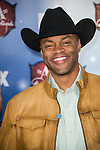 Cowboy Troy arrives at the American Country Awards 2013 at the Mandalay Bay Resort & Casino in Las Vegas, Nevada