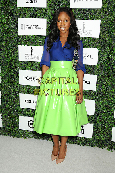 27 February 2014 - Beverly Hills, California - Sarah Jakes. 7th Annual ESSENCE &quot;Black Women in Hollywood&quot; Luncheon held at the Beverly Hills Hotel. <br /> CAP/ADM/BP<br /> &copy;Byron Purvis/AdMedia/Capital Pictures