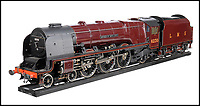 BNPS.co.uk (01202 558833)<br /> Pic:  BraybrookCollection/BNPS<br /> <br /> The Duchess of Buccluech.<br /> <br /> A late aristocrat's prized collection of model trains has sold for £244,000.<br /> <br /> Lord Braybrooke set up a miniature garden railway 55 years ago in the grounds of his stately home at Audley End House in Saffron Walden, Essex.<br /> <br /> He died in 2017 and his family parted with nine of his locomotives to raise funds to improve the railway's facilities so it can keep running for future generations.