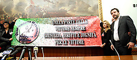 Matteo Salvini<br /> Roma 28/11/2017. Conferenza stampa al termine dell'incontro tra la Lega Nord e l'Osservatorio nazionale a sostegno delle vittime di violenza.<br /> Rome November 28th 2017. Press conference of the Lega Nord party at the end of the meeting with the National Observatory to support victims of violence.<br /> Foto Samantha Zucchi Insidefoto