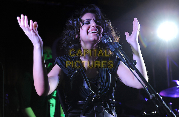 Wednesday May 5 2010:    Katie Melua at the Hard Rock Cafe, London.<br /> CAP/CK<br /> &copy;CK/Capital Pictures