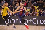 League ACB-ENDESA 2017/2018 - Game: 11.<br /> FC Barcelona Lassa vs Iberostar Tenerife: 91-93.<br /> Rosco Allen vs Victor Claver.