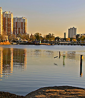 Tianjin Hexi district area water reflections photo