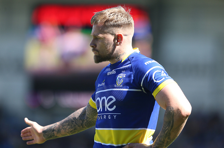 Warrington Wolves' Blake Austin <br /> <br /> Photographer Stephen White/CameraSport<br /> <br /> Rugby League - Coral Challenge Cup Sixth Round - Warrington Wolves v Wigan Warriors - Sunday 12th May 2019 - Halliwell Jones Stadium - Warrington<br /> <br /> World Copyright © 2019 CameraSport. All rights reserved. 43 Linden Ave. Countesthorpe. Leicester. England. LE8 5PG - Tel: +44 (0) 116 277 4147 - admin@camerasport.com - www.camerasport.com