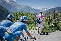 explicit 'fan'<br /> <br /> stage 7: Aoste &gt; Alpe d'Huez (168km)<br /> 69th Crit&eacute;rium du Dauphin&eacute; 2017