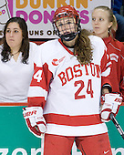 Melissa Anderson (BU - 24) - The Boston University Terriers defeated the Providence College Friars 5-3 on Saturday, November 14, 2009, at Agganis Arena in Boston, Massachusetts.
