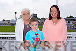 Kitty Costello, Josh Creagh, Mary Creagh  enjoying the Listowel Races on Sunday