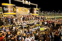 14-16 November 2008, Homestead, Florida USA.2008 Champion Jimmie Johnson and tem celebrate..©F.Peirce Williams 2008.F. Peirce Williams.photography