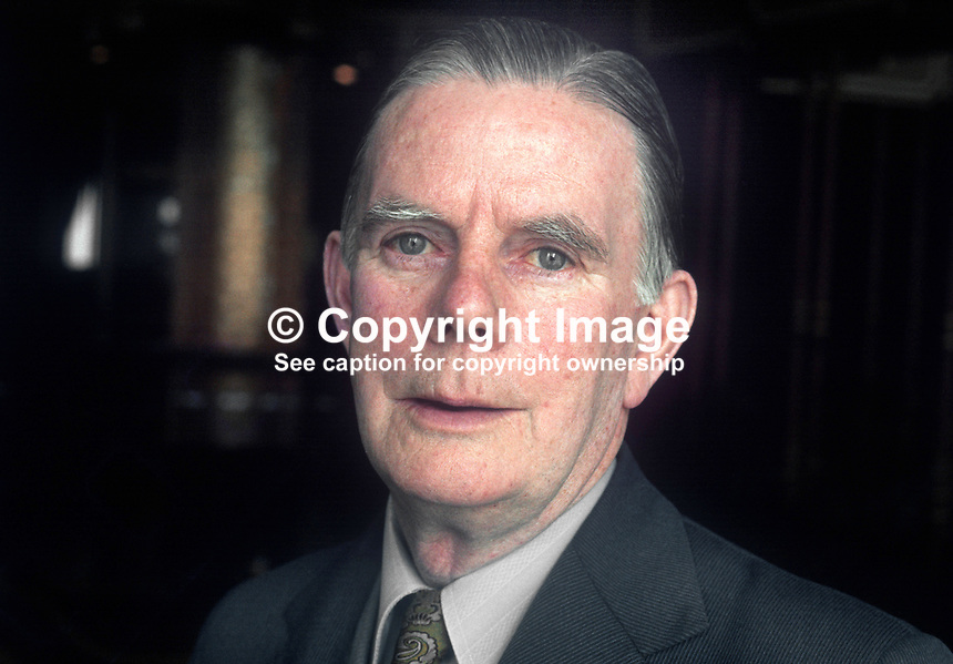 Stanley Morgan, United Ulster Unionist Movement, N Ireland, UK, 197705000126<br />