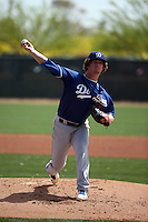 Grant Holmes - Los Angeles Dodgers 2016 spring training (Bill Mitchell)