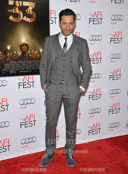 Actor Cas Anvar at the premiere of &quot;The 33&quot;, part of the AFI FEST 2015, at the TCL Chinese Theatre, Hollywood. <br /> November 9, 2015  Los Angeles, CA<br /> Picture: Paul Smith / Featureflash