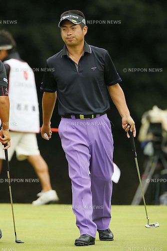 Yuta Ikeda, OCTOBER 7, 2012 - Golf : Canon Open Golf Tournament Final Round at Totsuka Country Club, Kanagawa, Japan. (Photo by AFLO SPORT) [1156]