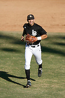 February 11 2007: Danny Espinosa of the Long Beach State 49'ers during game against the Texas Longhorns at Blair Field in Long Beach,CA.  Photo by Larry Goren/Four Seam Images