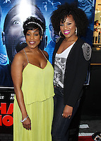 "LOS ANGELES, CA, USA - APRIL 16: Niecy Nash, Kellee Stewart at the Los Angeles Premiere Of Open Road Films' ""A Haunted House 2"" held at Regal Cinemas L.A. Live on April 16, 2014 in Los Angeles, California, United States. (Photo by Xavier Collin/Celebrity Monitor)"