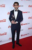 30 March 2017 - Las Vegas, NV -  Kumail Nanjiani. 2017 CinemaCon Big Screen Achievement Awards at Caesar's Palace.  Photo Credit: MJT/AdMedia