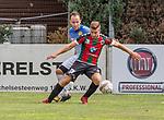 2018-07-29 / Voetbal / seizoen 2018 -2019 / GR Katelijne - KFC Duffel/ Nick Van Asch (l.KFC Duffel) met Jordy Uijtenhaak ,Foto: Mpics.be