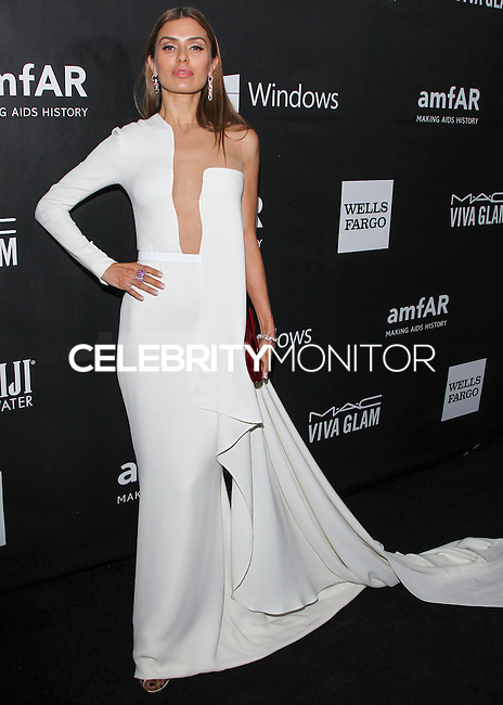 HOLLYWOOD, LOS ANGELES, CA, USA - OCTOBER 29: Victoria Bonya arrives at the 2014 amfAR LA Inspiration Gala at Milk Studios on October 29, 2014 in Hollywood, Los Angeles, California, United States. (Photo by Celebrity Monitor)