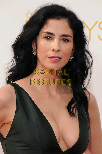 25 August 2014 - Los Angeles, California - Sarah Silverman. 66th Annual Primetime Emmy Awards - Arrivals held at Nokia Theatre LA Live. <br /> CAP/ADM/BP<br /> &copy;BP/ADM/Capital Pictures