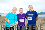 At the Maharees Brandon Bay Half Marathon on Saturday were l -r  James Tobin, Donie Sullivan and Tom Brown