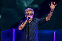 The Who performs on the main stage of the Festival d'ete de Quebec (FEQ) in Quebec city Thursday July 13, 2017.
