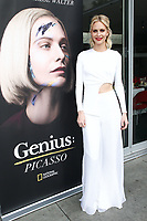 """LOS ANGELES - APRIL 15: Poppy Delevingne attends a dinner and conversation celebrating the premiere of National Geographic's """"Genius: Picasso"""" at Ray's and Stark Bar LACMA on April 15, 2018 in Los Angeles, California. (Photo by John Salangsang/NatGeo/PictureGroup)"""