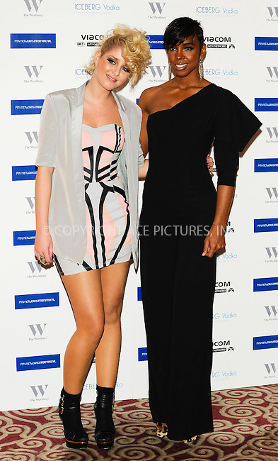 WWW.ACEPIXS.COM . . . . .  ..... . . . . US SALES ONLY . . . . .....January 27 2011, London....Esmee Denters and Kelly Rowland at the MTV Staying Alive Foundation dinner to celebrate the achievements of Bill Roedy, Chairman and Chief Executive of MTV Networks International at the Westbury Hotel on January 27 2011 in London....Please byline: FAMOUS-ACE PICTURES... . . . .  ....Ace Pictures, Inc:  ..Tel: (212) 243-8787..e-mail: info@acepixs.com..web: http://www.acepixs.com