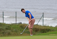 David Brady (Co. Sligo) on the 3rd during Matchplay Round 1 of the South of Ireland Amateur Open Championship at LaHinch Golf Club on Friday 22nd July 2016.<br /> Picture:  Golffile | Thos Caffrey<br /> <br /> All photos usage must carry mandatory copyright credit   (© Golffile | Thos Caffrey)