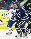 Michael Scheu (Lowell - 20), Austin Block (UNH - 3) - The visiting University of New Hampshire Wildcats defeated the University of Massachusetts-Lowell River Hawks 3-0 on Thursday, December 2, 2010, at Tsongas Arena in Lowell, Massachusetts.