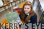 Leslie McCarthy from Abbeydorney and a student at Presentation Tralee was selected to represent Kerry on a trip to the Somme as part of a national competition.