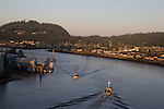 La Conner, Shelter Bay, Swinomish Channel,  Skagit County, Washington State,