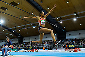 2nd February 2019, Karlsruhe, Germany;  Winner triple jump: Ana Peleteiro (ESP). IAAF Indoor athletics meeting, Karlsruhe