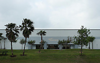 An Andrew manufacturing plant in the Sharyland Business Park in McAllen, Texas, Sunday, April 4, 2010. Trade with Mexico is flourishing in this town despite the spike in drug-related violence south of the border. While the State Department issues travel warnings to nearby Mexican cities, the number of good-laden trucks that crosses into McAllen is growing, as is trade-related investment. ..PHOTO/ Matt Nager