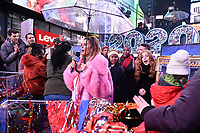 NEW YORK CITY - DECEMBER 31: Co-host Maria Menounos appears on FOX'S NEW YEAR'S EVE WITH STEVE HARVEY: LIVE FROM TIMES SQUARE on December 31, 2019 in New York City. (Photo by Anthony Behar/Fox/PictureGroup)