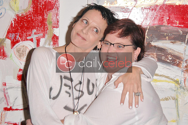 Lori Petty and her sister Lisa