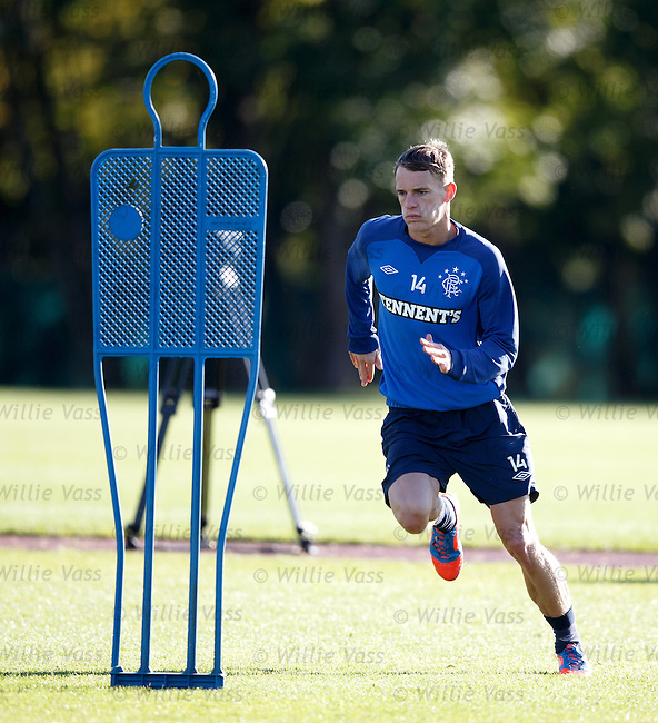 Dean Shiels back after his injury
