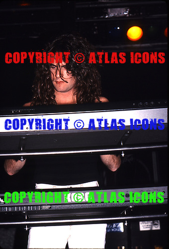 Dream Theater; 1988; Perform at U.S. Blues / MCA Industry Showcase;<br /> Photo Credit: Eddie Malluk/Atlasicons.com